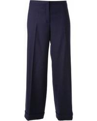 Falda pantalón azul marino de Tory Burch
