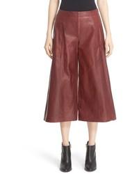 Falda pantalon de cuero original 9918408