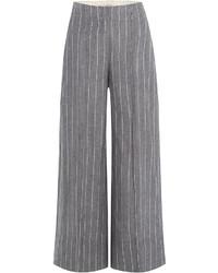 Falda pantalon de rayas verticales original 9918590