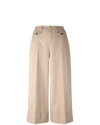 56c2e3f705 Comprar una falda pantalón en beige  elegir faldas pantalón en beige ...
