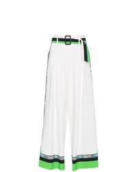 Falda pantalón estampada blanca de Etro