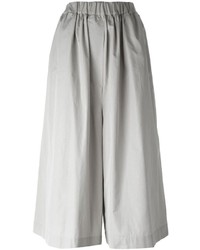 Falda pantalón gris