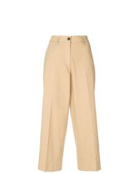 Falda pantalón marrón claro de Barena