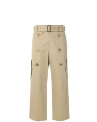 Falda pantalón marrón claro de Junya Watanabe Comme Des Garçons Vintage