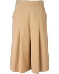 Falda pantalón marrón claro de Kai-aakmann