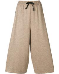 Falda pantalón marrón claro de Maison Margiela