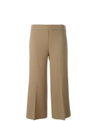 Falda pantalón marrón claro de P.A.R.O.S.H.