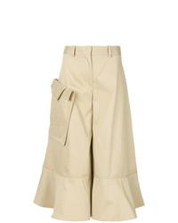 Falda pantalón marrón claro de Palmer Harding