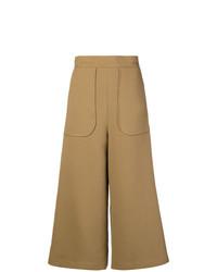 Falda pantalón marrón claro de See by Chloe