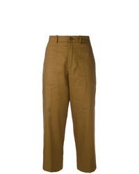 Falda pantalón marrón de Chloé