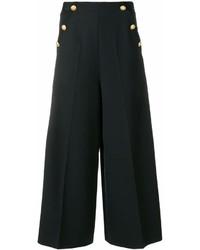Falda Pantalón Negra de Lanvin
