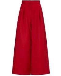 Falda pantalón roja