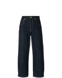 Falda pantalón vaquera azul marino de Carven