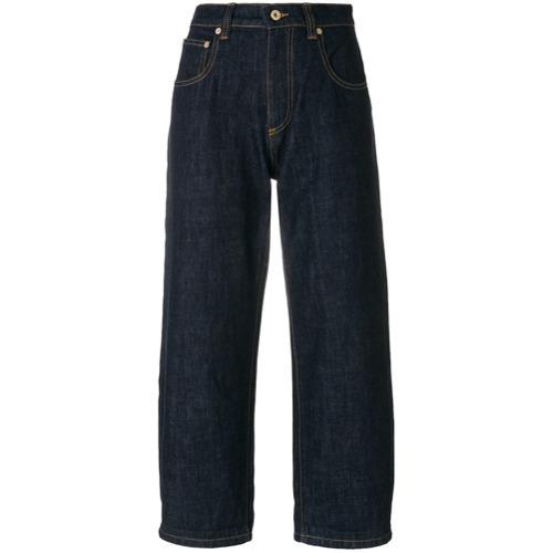 3aeb561f17 ... Falda pantalón vaquera azul marino de Carven ...
