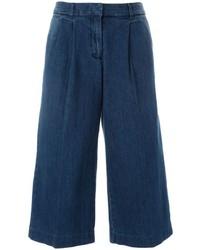 Falda pantalón vaquera azul marino de MICHAEL Michael Kors