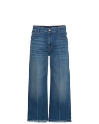 Falda pantalón vaquera azul de Stella McCartney