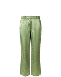 Falda pantalón verde de Sies Marjan