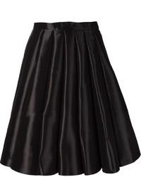 Falda Plisada Negra de Comme des Garcons
