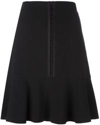 Falda plisada negra de Etro