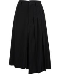 Falda Plisada Negra de Y's