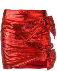 Falda roja de Isabel Marant