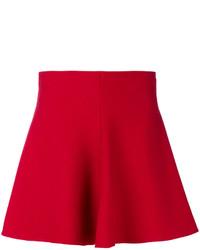 Falda skater roja de RED Valentino