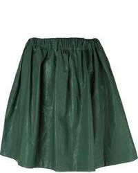 Falda skater verde oscuro original 4879330