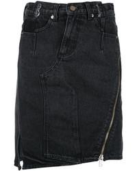 Falda vaquera negra de 3.1 Phillip Lim