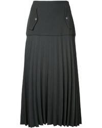 Falda verde oscuro de Dion Lee