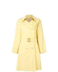 Gabardina Amarilla de Hermès Vintage