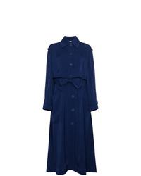 Gabardina Azul Marino de Stella McCartney