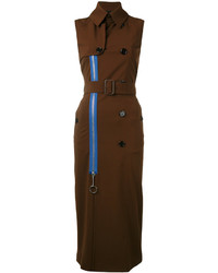 Gabardina Marrón Oscuro de Givenchy