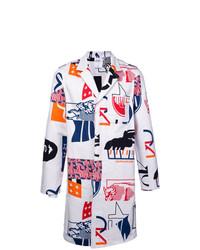 Gabardina Multicolor de Calvin Klein Jeans Est. 1978