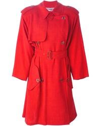 Gabardina Roja de Jean Paul Gaultier