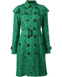 Gabardina Verde de Burberry