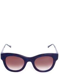 Gafas de sol azul marino de Thierry Lasry