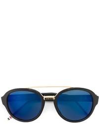 Gafas de sol azul marino de Thom Browne