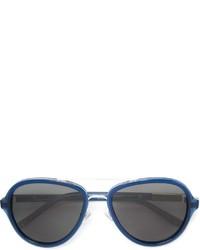 Gafas de sol azules de Linda Farrow Gallery