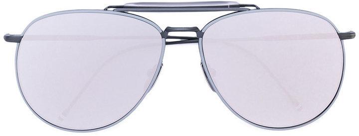 Gafas de sol blancas de Thom Browne