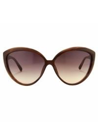 Gafas de Sol Burdeos de Linda Farrow