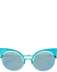Gafas de sol celestes de Fendi