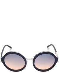 Gafas de sol celestes de Linda Farrow Gallery