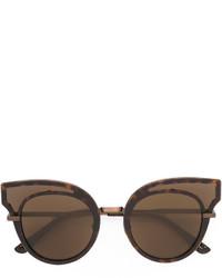 Gafas de Sol con Adornos Marrónes de Bottega Veneta