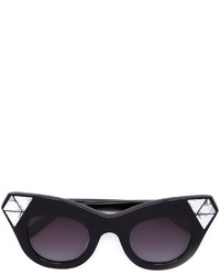 Gafas de Sol con Adornos Negras de Vera Wang
