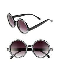 Gafas de Sol con Cuentas Negras y Blancas