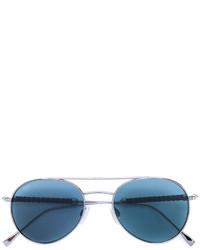 Gafas de sol con cuentas plateadas de Tod's