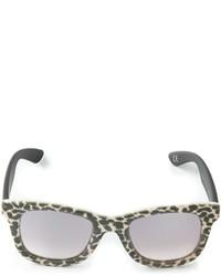 Gafas de sol de leopardo grises de Italia Independent