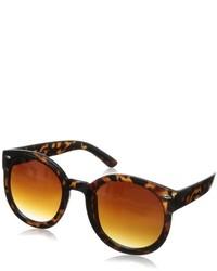 Gafas de sol de leopardo marrónes