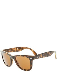 Gafas de sol de leopardo marrónes de Ray-Ban