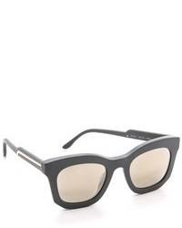 Gafas de sol en gris oscuro